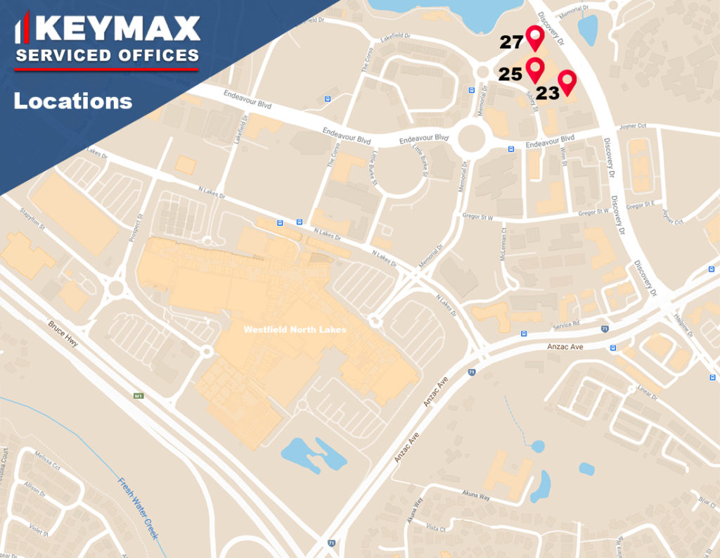 Serviced Office Locations Map